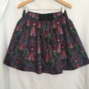 $440 Alice and Olivia Skirt size 4 with pleats